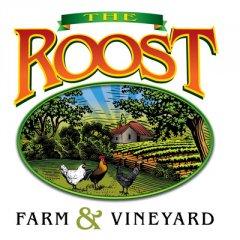 The Roost Farm & Vineyard Logo Design