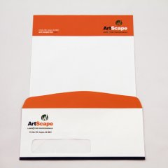ArtScape Logo and Corporate Identity